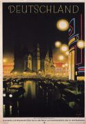 Vintage Travel Poster, Deutschland Germany